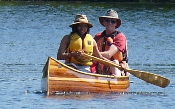 "To Build The ""Waist Nought"" Cedar-Strip Canoe by Bruce Kitchen, Lakefield, ON Canada"