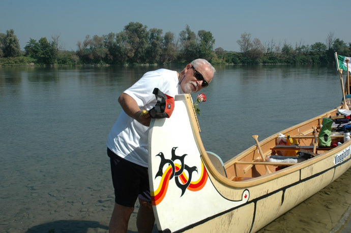 Ted Moores' FIRST Canoe Building Class - I Was There! by Steve Squelch, Oshawa, ON Canada