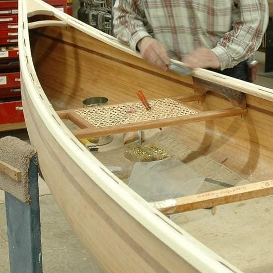 Canoe Seats - Machine-Caned