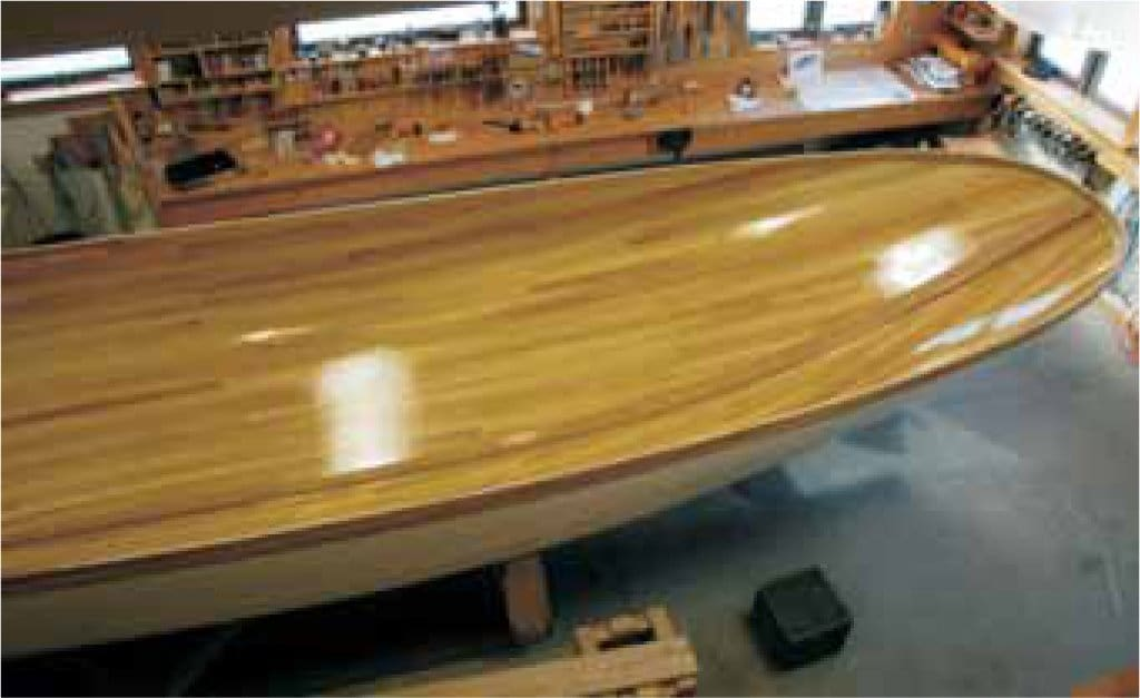 How To Fiberglass A Strip-Planked Boat