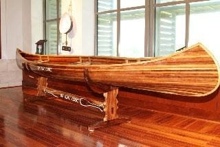 How to store a wood canoe