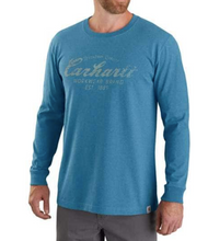 Load image into Gallery viewer, Carhartt Men's Relaxed Fit Heavyweight Long-Sleeve Graphic T-Shirt