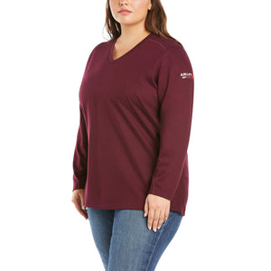 Ariat Women's FR AC Crew Top