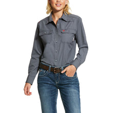 Load image into Gallery viewer, Ariat Women's FR Featherlight Work Shirts
