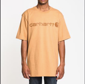 Carhartt Men's Short-Sleeve Logo T-Shirts