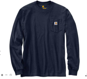 Carhartt Heavyweight Long-Sleeve Hard Hat Graphic T-Shirt