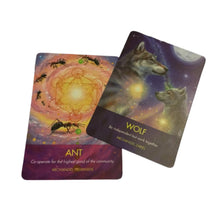 Ladda upp bild till gallerivisning, Archangel Animal Oracle Cards + booklet - Diana Cooper