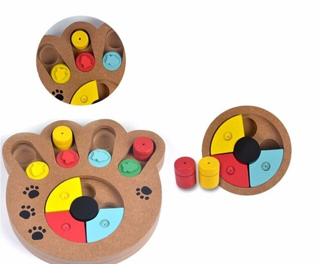 Educational & Eco-friendly Paw Puzzle Toy
