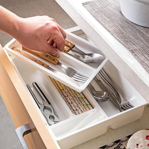 Tray Spoon Cutlery Separation