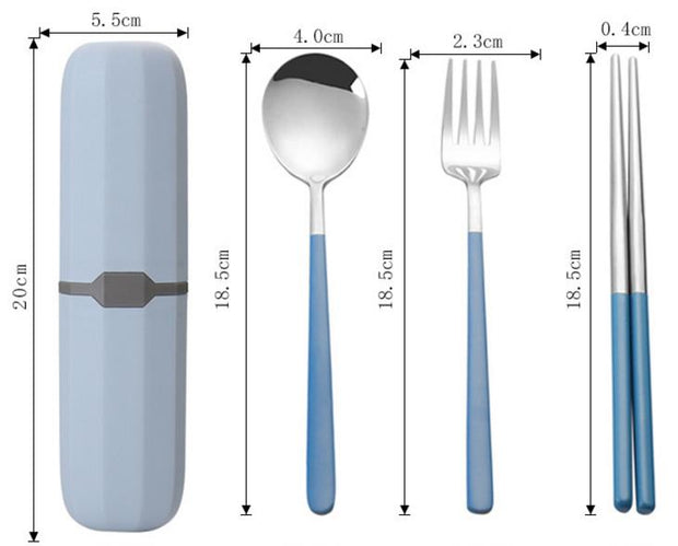 Stainless Steel Cutlery Suit