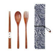Tableware Wooden Cutlery Sets