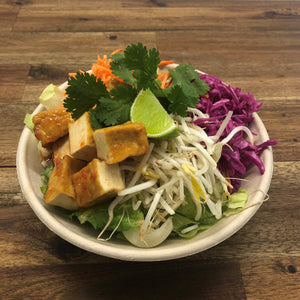 **NEW** Thai Tofu Bowl (Vegan GF DF Low Carb)