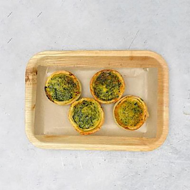 Mini Spinach & Feta Quiche - Essential Kitchen Sydney