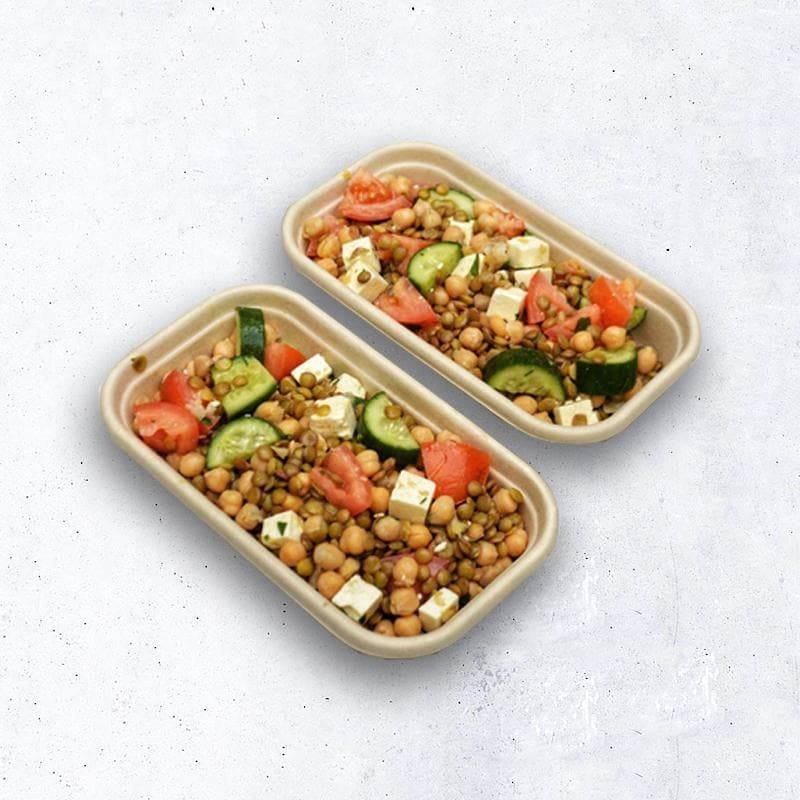 Feta, Chickpea & Lentil Salad - Essential Kitchen Sydney