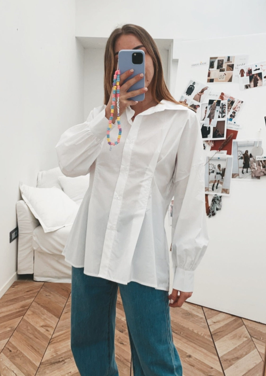 SET CAMICIA+ CROP TOP