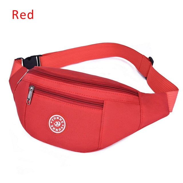 2020 Men Women Nylon Waist Packs Sling Bags Crossbody Outdoor Sport Shoulder Chest Daily Picnic Canvas Messenger Pack Bag Bolsa