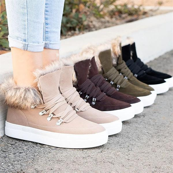 Mavishoes Fury Winter Platform Sneakers