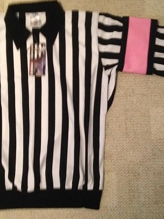 Pink Referee Arm Bands