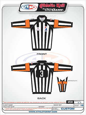 Custom Designed Referee Jerseys