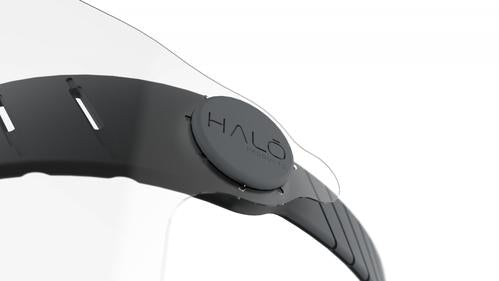 Reusable Halo Face Shield - Charcoal