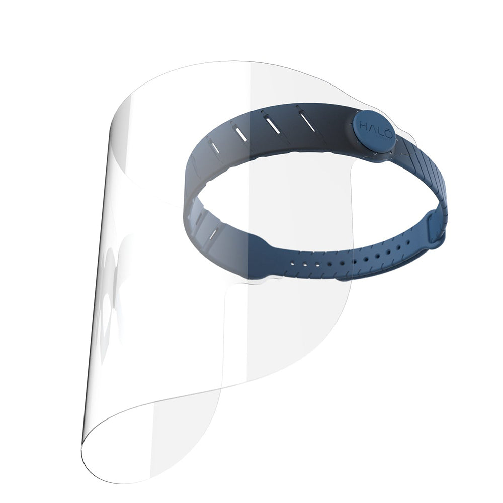 Reusable Halo Face Shield - Prussian Blue