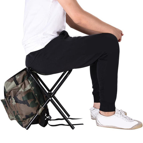 FOLDABLE BACKPACK CHAIR FOR OUTDOOR ACTIVITIES