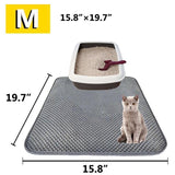 LITTERTRAPPER™ - DOUBLE LAYER CAT LITTER MAT
