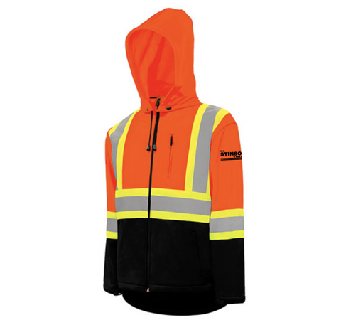 Hi Vis Safety Softshell Jacket