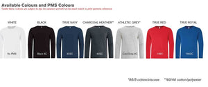 ATC™ EUROSPUN® RING SPUN LONG SLEEVE TEE. ATC8015