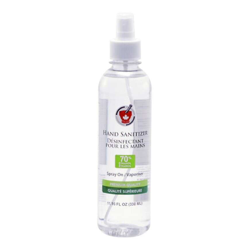 Hand Sanitizer Spray Bottle 330ml