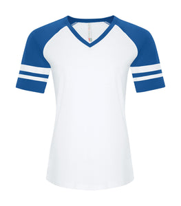ATC™ EUROSPUN® RING SPUN BASEBALL LADIES' TEE. ATC0822L