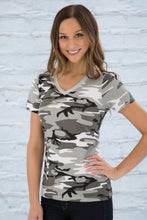 Load image into Gallery viewer, ATC™ EUROSPUN® RING SPUN V-NECK LADIES' TEE. ATC8001L