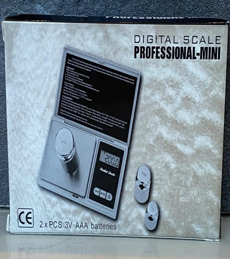 Digital Scale Professional-Mini - Artisan Botanicals