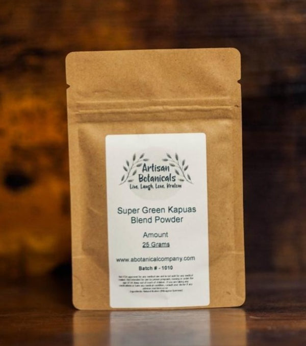 Kapuas Green Strain, Hybrid Grown Powder - Artisan Botanicals