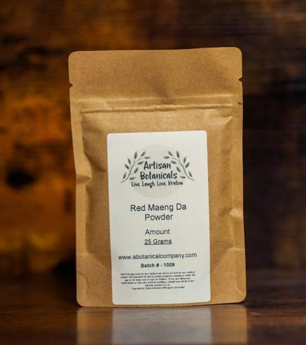 Red Maeng Da, Kratom Powder - Artisan Botanicals