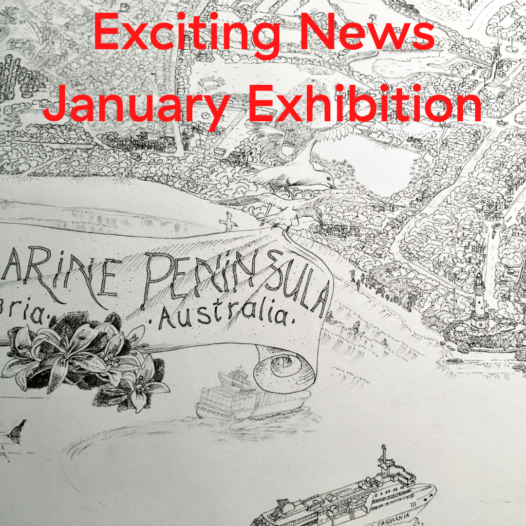 Upcoming Exhibition of The Bellarine Map