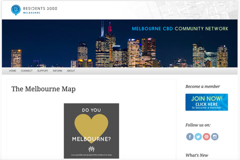 Residents 3000 The Melbourne Map