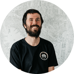 The Melbourne Map 2020 Chief Illustrator Lewis Brownlie