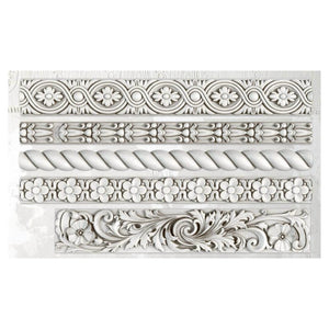 'TRIMMINGS2' IOD DECOR MOULD (6″X10″)
