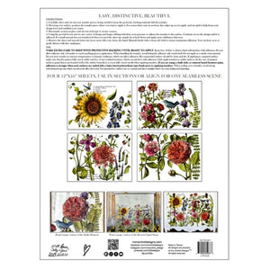 BOTANIST JOURNAL IOD IMAGE TRANSFER (12″X16″ PAD-4 SHEETS)