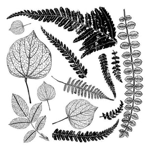 'FRONDS' IOD DECOR STAMP (12″X12″)