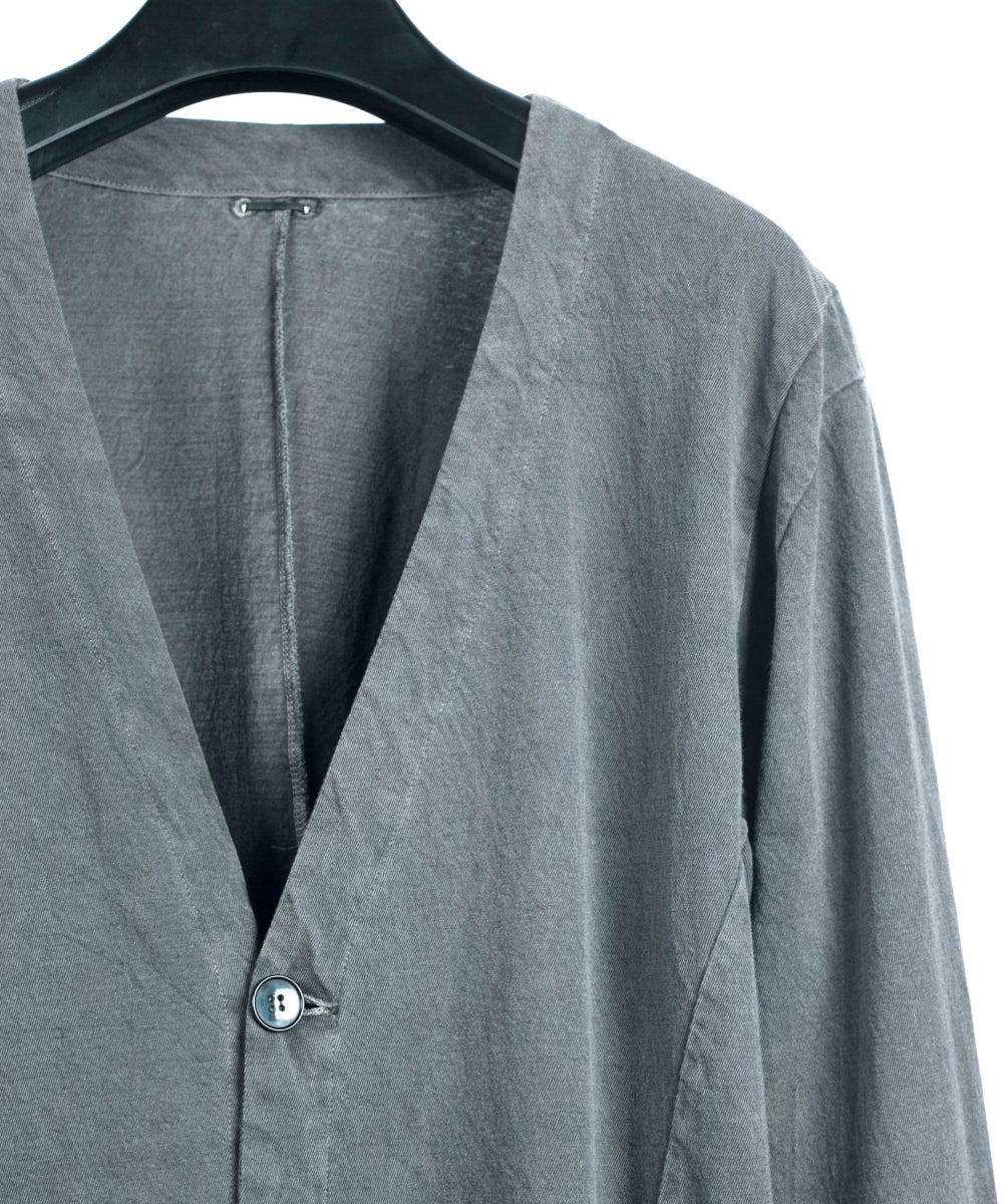 Load image into Gallery viewer, Pigment dyed Cut & Sewn Cardigan / Gray