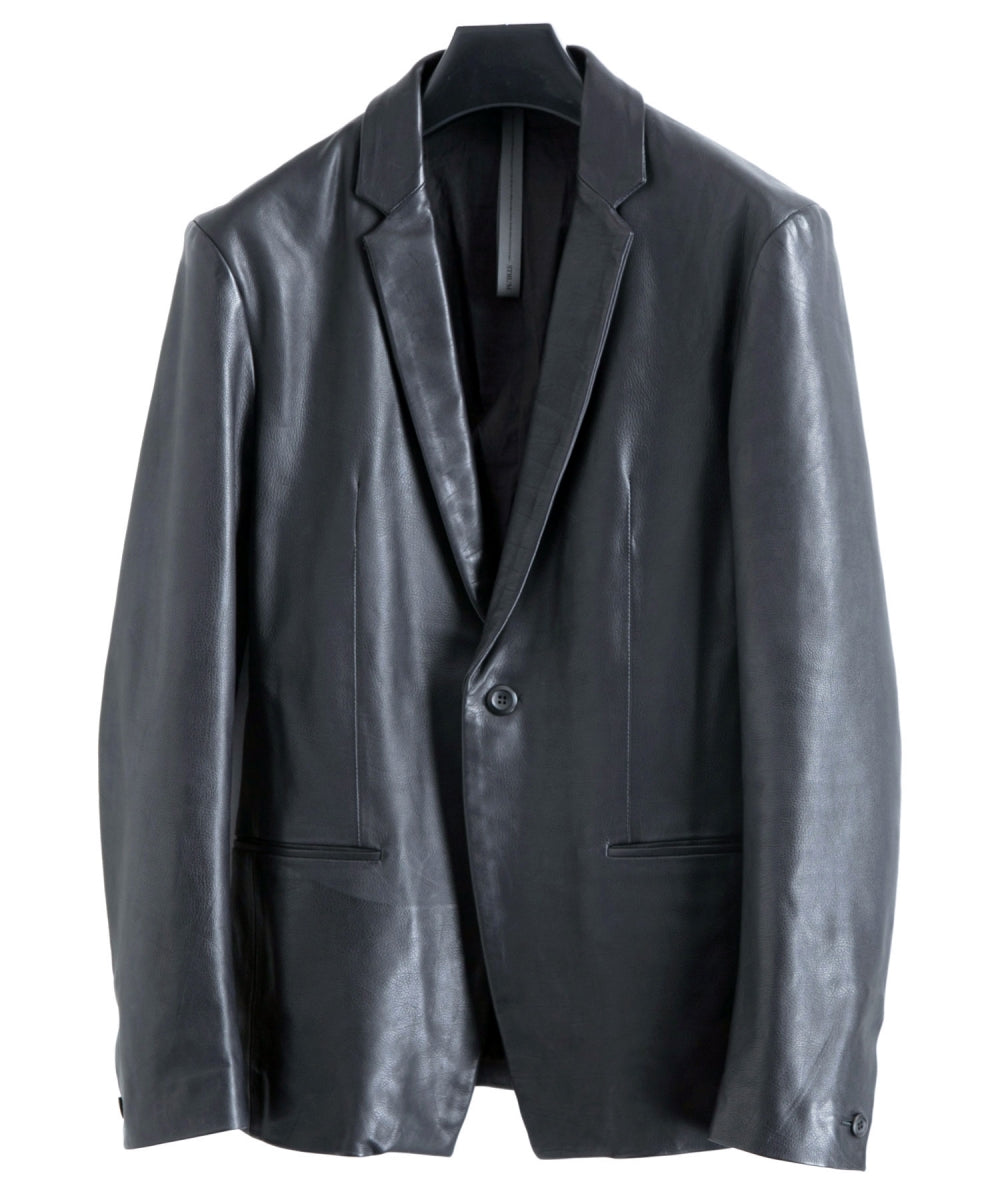 Domestic Calf Skin Tailored Jacket