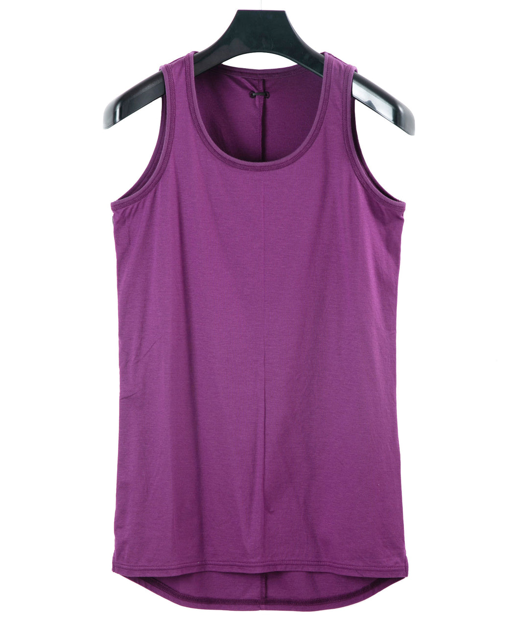 Giza Lyocell High Gauge Cotton Tank Top / Purple