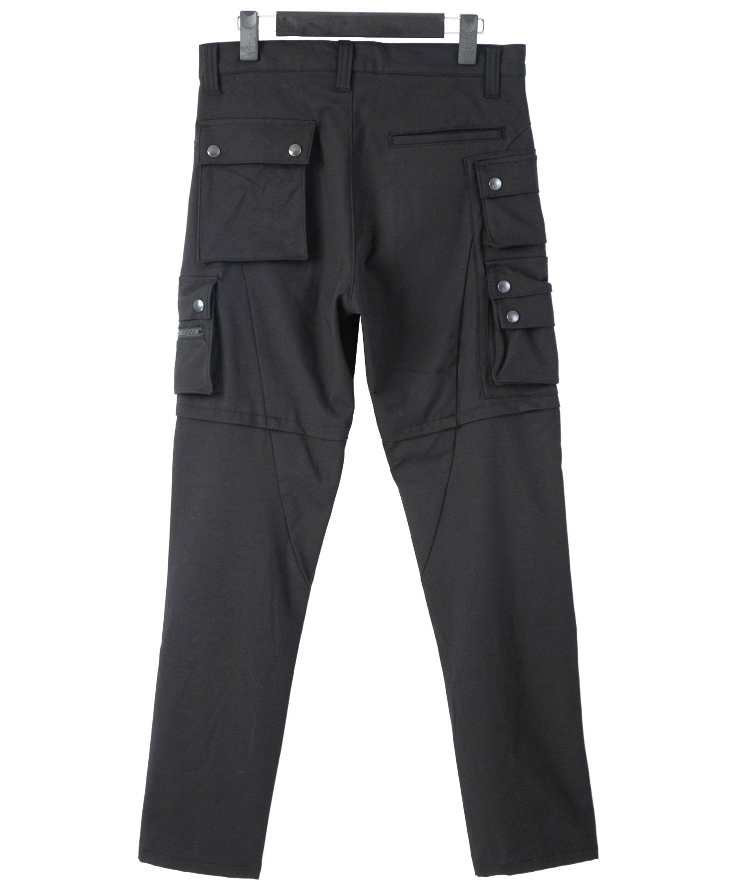 Load image into Gallery viewer, Stretch Twill Biker Pants / Black