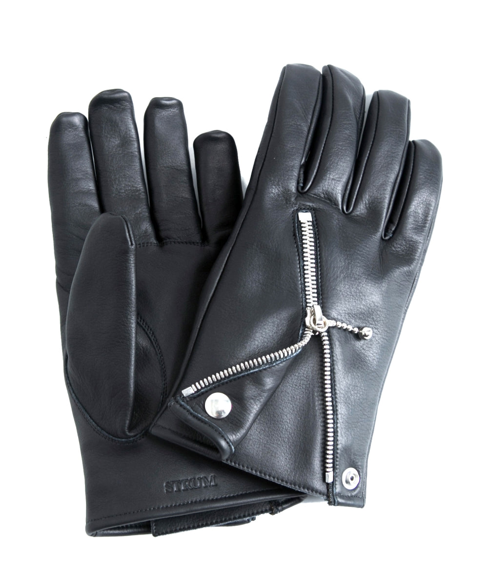 Domestic Cowhide Soft Raised Riders Gloves