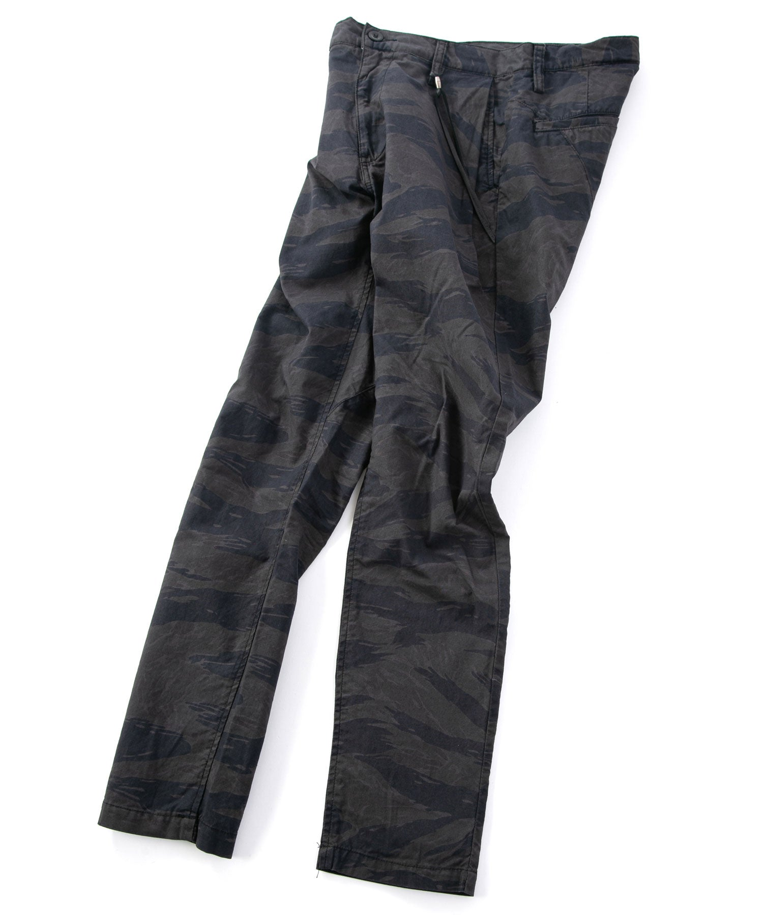 Load image into Gallery viewer, Tiger Camo Pigment Print Tapered Pants / Camouflage