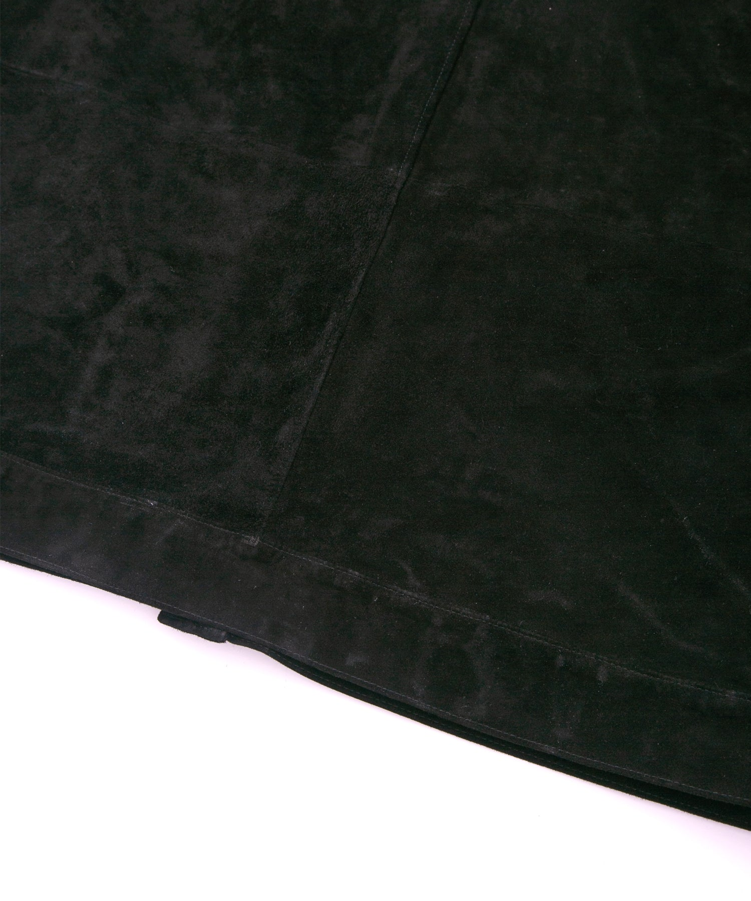 Load image into Gallery viewer, Domestic Calf Suede Over Cardigan / BLACK