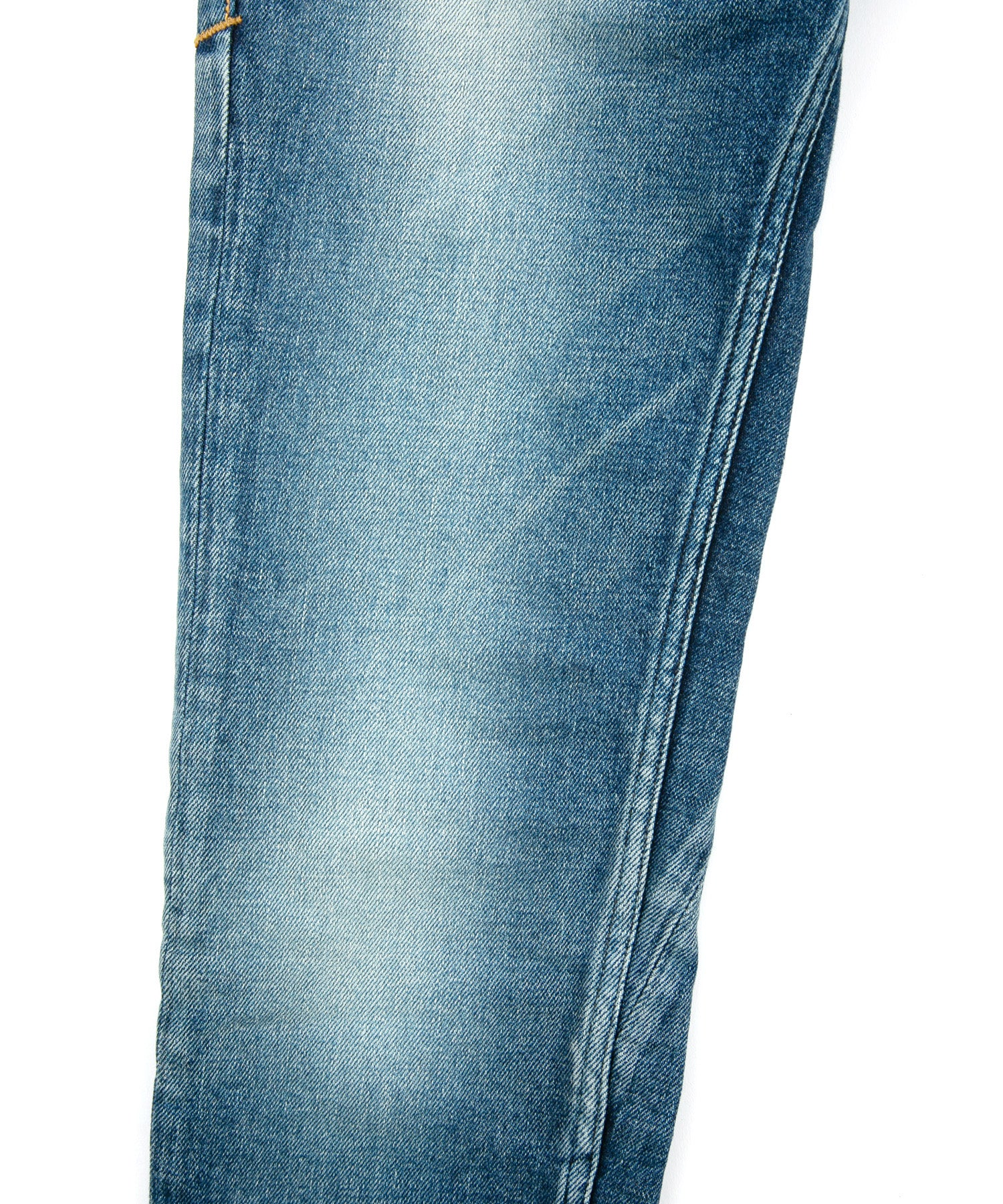 Load image into Gallery viewer, 12.5oz Organic Cotton Stretch Denim Skinny Jeans Used Processing / INDIGO