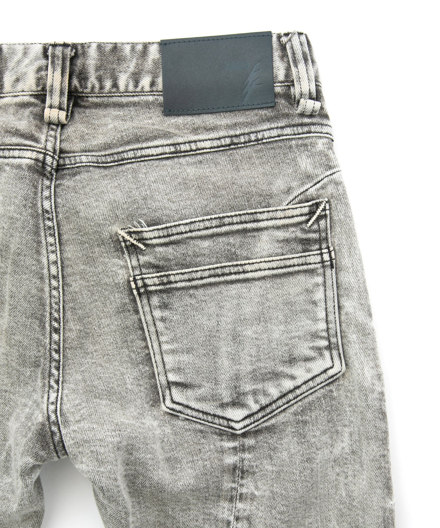 Load image into Gallery viewer, 11oz Organic Cotton Stretch Denim Skinny Jeans / WHITE